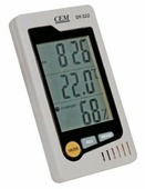 Термогигрометр с часами DT-322 CEM-Instruments