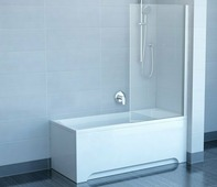 Шторка для ванны Ravak CVS1-80 R хром+транспарент