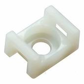 Площадки с монтажным отверстием ПМО 15х10 мм, белые (100 шт.) {62451}