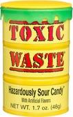 Леденцы TOXIC Waste, желтая банка, 42 г