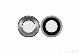 Стекло камеры iPhone 6, 6S, серебряный