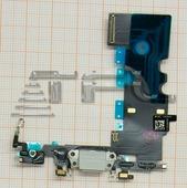 Шлейф с разъёмом зарядки для iPhone 8