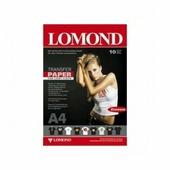 Бумага Lomond струйный термотрансфер 1х10, А4 ECONOM, для св-х тканей (0808441)