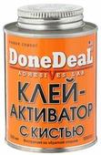 """Клей-активатор для ремонта шин """"Done Deal"""", с кистью, 250 мл"""