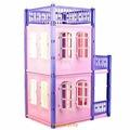 "Домик для кукол Нордпласт ""Замок принцессы"", розовый (2 этажа), Нордпласт 591/2"