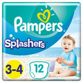 Подгузники-трусики PAMPERS Splashers 3 Midi-4 Maxi 6-11 кг 12 штук (8001090698346)