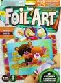 """Аппликация цветной фольгой Danko Toys """"Foil Art. Медвежата"""""""