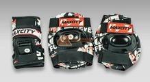 Комплект роликовой защиты Maxcity Teddy blue размер S