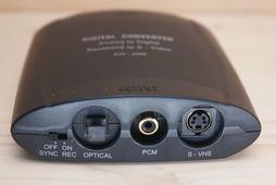 Конвертер AVE HDC-36 (Композитный CVBS & Audio в S-Video, Optical & Coaxial)