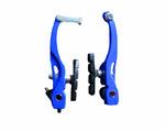 Тормозные рычаги с колодками Vinca sport VVB 15 blue