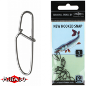 AMA01-813-5 Застёжка New Hooked Snap BN №5 (AMA01-813-5)