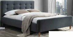 Кровать Signal Pinko 160x200 (серый)