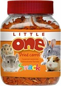 Лакомство Little One Dried Carrot Сушеная морковь для всех грызунов, 200г