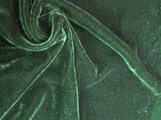 Ткань Текстэль Бархат Стрейч 400 Премиум Плюс, Термотрансфер, 400 г/кв.м, 150 см (Изумрудный) (21 пог.м)