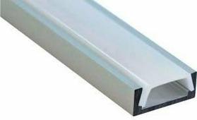 Профиль Smartbuy накладной алюминий + рассеиватель поликарбонат 16x6мм 2 метра +562468 SBL-Al16x6 PAL1506