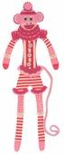 """Закладка RTO """"Обезьянка в розовом"""", длина 33 см"""