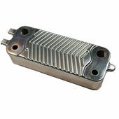 Теплообменник вторичный 26 пластин для котлов Bosch, Buderus 87186429490