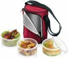 Термосумка для переноса еды Tescoma Freshbox, с 3 емкостями 1,5 л