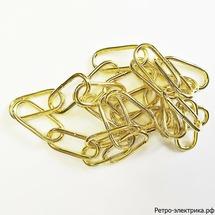 Цепочка для подвеса 4 мм диаметр цвет имитация золото