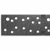 Чугунная решетка ACO Dots для каналов Multiline V100 (С 250)
