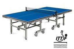Теннисный стол START LINE Champion 25 мм, кант 50 мм, регулируемые опоры + сетка с креплениями в подарок