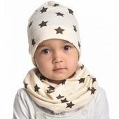 Пеленкино Шапочка и шарфик Шоколадные звезды