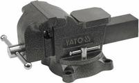 Yato Тиски слесарные поворотные 125мм 10кг YT-6502