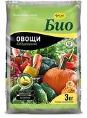 Удобрение сухое Фаско БИО Овощи гранулированное 3 кг