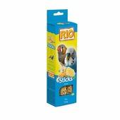 RIO Sticks Honey палочки для волнистых попугаев и экзотических птиц с медом, 2*40г