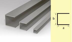 Швеллер алюминиевый 30*30*30 300см