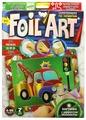 Danko Toys Аппликация из фольги Foil Art Машинка