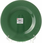 "Тарелка Pasabahce ""Грин Сити"", цвет: зеленый, диаметр 26 см"