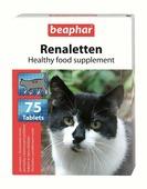 """Добавка кормовая Beaphar """"Renaletten"""", для кошек, 75 таблеток"""