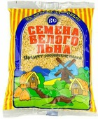 Семена белого льна Василева Слобода, 200 г