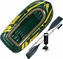 Лодка надувная Intex Seahawk 3 Set, 68380NP, с веслами и насосом, до 360 кг, 295 х 137 х 43 см