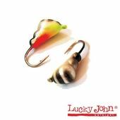 Мормышка вольфрамовая Lucky John муравей покраска с петел. 030/28