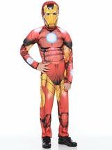 Батик Костюм Железный человек. Мстители (текстиль) р.36 (рост 140 см)