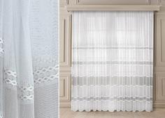 Гардина ТД Текстиль Исабена, 29431, белый, 270 х 500 см