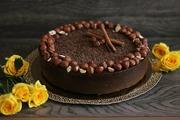 Шоколадный торт «Брауни» | RAW 1000 гр
