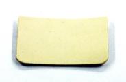 Вкладыш-прокладка для замка 417/5 (1 шт.) белый (G12707) 81.000.12.707