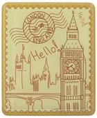 """Магнит Феникс-презент """"Лондон"""", 4,5 x 5,5 см"""