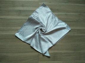 Платок атлас 90 СМ на 90 СМ серый