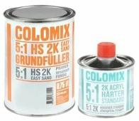 Двухкомпонентный 2K грунт COLOMIX 0,75 мл 5:1 серый