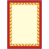 Бланк для грамот, дипломов, сетрификатов А4, мелованный картон Спейс BU_6535