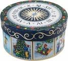 "Коробка подарочная Magic Time ""Новогодние часы"", 14 х 14 х 7 см. 78460"