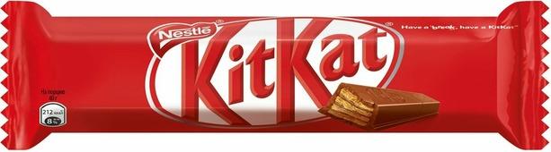 KitKat шоколадный батончик, 40 г