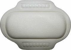 "Подголовник для ванны ""Bacchetta"", цвет: белый, 25 х 34 см"