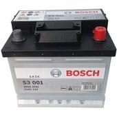 Автомобильный аккумулятор Bosch S3 001 (41 A/h), 360A R+ (541 400 036)