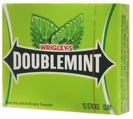 Doublemint жевательная резинка, 40,5 г