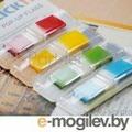 Закладки самокл. индексы пластиковые Stick`n 26020 12x45мм 4цв.в упак. 35лист Z-сложение с цветным краем блистер